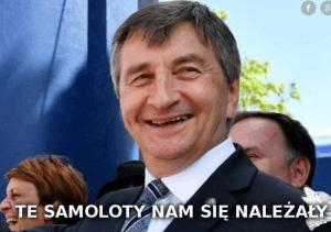 Odlot Kuchcińskiego